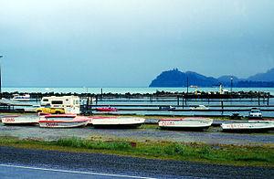 Sekiu, Washington - Fishing boats out for the winter in Sekiu