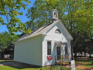 Lower Township, New Jersey - Fishing Creek Schoolhouse