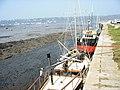 Fishing boats alongside the Western Wharf - geograph.org.uk - 585911.jpg
