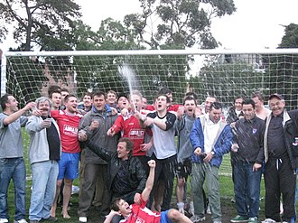 Fitzroy City SC - Image: Fitzroy Promoted 014