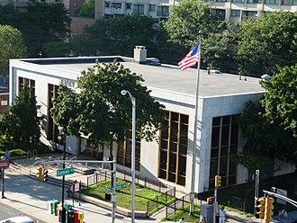 Summit Avenue (Hudson Palisades) - Image: Five Corners Branch Jersey City Public Library