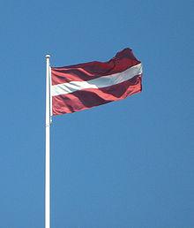 拉脱维亚国旗