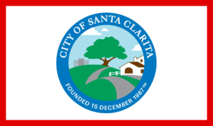 Newhall, Santa Clarita, California - Image: Flag of Santa Clarita, California