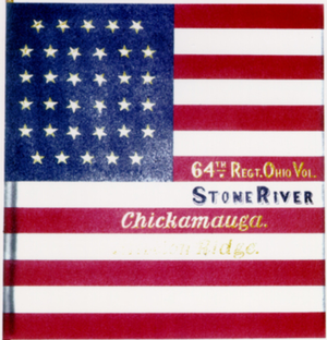 64th Ohio Infantry - Image: Flag of the 64th Ohio Infantry