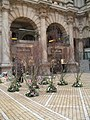 Floral displays within The Royal Exchange - geograph.org.uk - 1761452.jpg