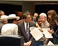 Florida State Senator Ron Klein in a discussion with other legislators - Tallahassee, Florida.jpg