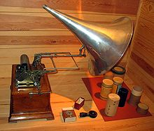 photo : phonographe d'Edison