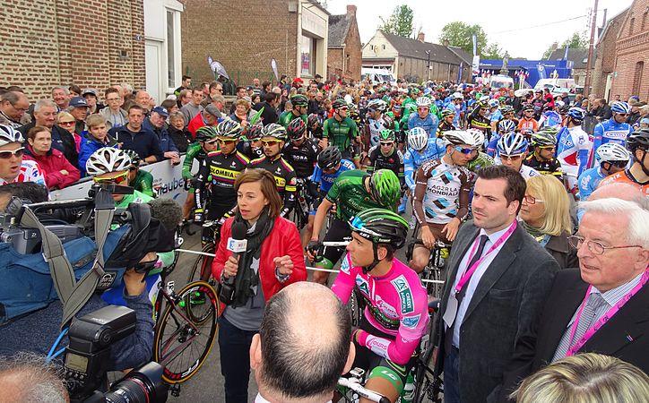 Fontaine-au-Pire - Quatre jours de Dunkerque, étape 2, 7 mai 2015, départ (C08).JPG