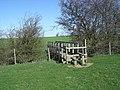 Footbridge over Staindale Beck - geograph.org.uk - 397188.jpg