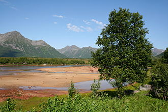 Andøy - Forfjord valley on Hinnøya, partly in Andøy municipality.