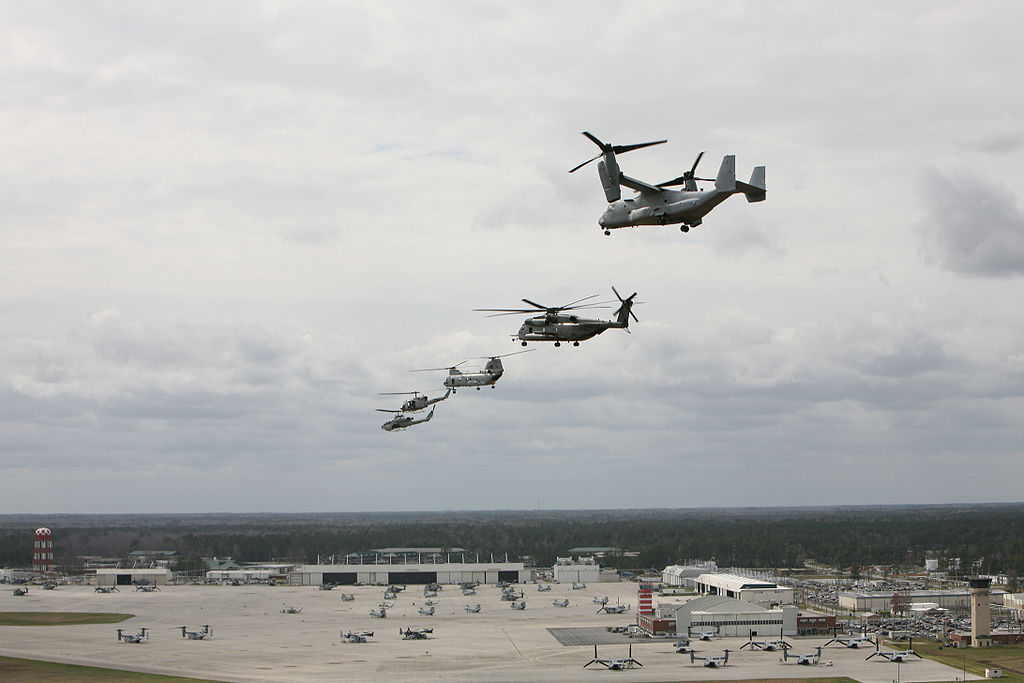 Formation over MCAS New River 2008.jpg
