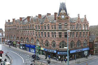 Gilbert Smith Doughty - Former premises of Redmayne and Todd, Carrington Street, Nottingham 1896-97