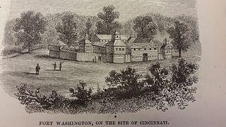 Fort Washington (Ohio) 18th c. fort in present-day Cincinnati, Ohio, United States