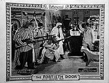 Cartão do saguão da quadragésima porta 1924.jpg