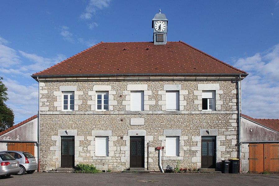 École à Foucherans (Doubs).