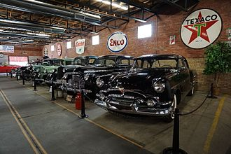 Texarkana metropolitan area - Four States Auto Museum in downtown Texarkana