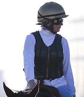 Francine Villeneuve Canadian thoroughbred jockey