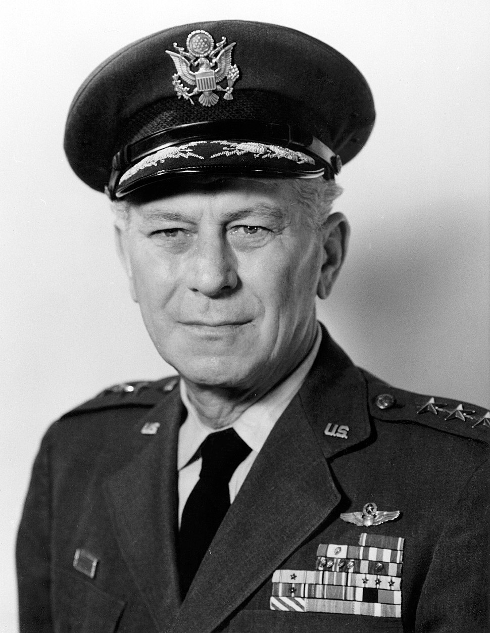 Frank A. Armstrong, official portrait