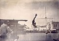 Frank Keogh of Chicago Athletic Association in fancy diving competition (placed third) at the 1904 Olympics.jpg