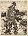 Frank W. Benson, The Gunner, 1915.jpg