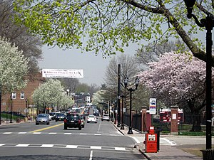 Nutley, New Jersey - Franklin Avenue, a main shopping street
