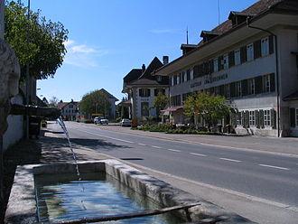 Fraubrunnen - Image: Fraubrunnen Zentrum