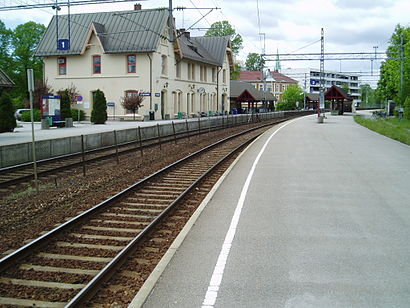 How to get to Fredrikstad stasjon with public transit - About the place