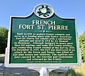 French Fort St. Pierre historical marker.jpg