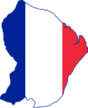 French Guiana Flag Map.png
