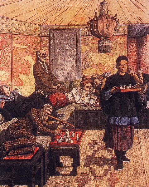 French Opium Den.  1903.