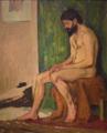 Fresnaye-homme barbu assis.png