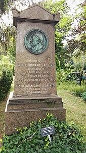 Ehrengrab von Carl Ferdinand Langhans in Berlin-Kreuzberg (Quelle: Wikimedia)
