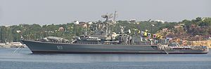 1986 Black Sea incident - Image: Frigate Ladny cropped