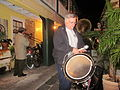 Fringe 2012 Kickoff Howard Drum.JPG