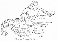 Triton half-man, half-lobster.