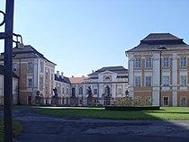 Front side of Duchcov castle in Czech Republic.jpg