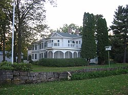 A house from Frontenac's days as a 19th-century resort town