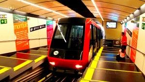 File:Funicular Train Adventure in Barcelona..webm