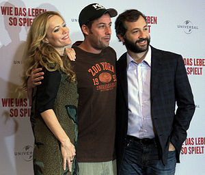 Funny People - Leslie Mann, Adam Sandler and Judd Apatow in Berlin (2009)