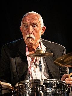 Günter Sommer German jazz drummer
