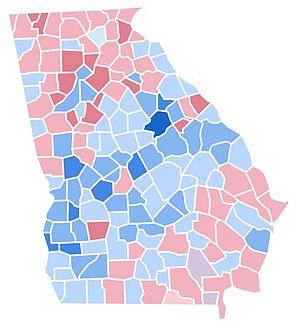 United States presidential election in Georgia, 1992 - Image: GA1992