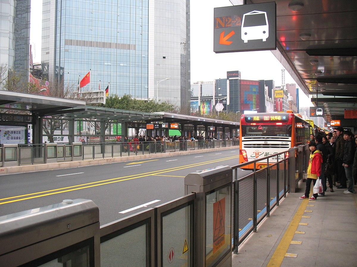 Guangzhou Bus Rapid Transit Wikipedia