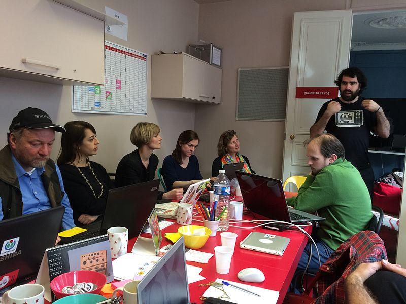 GLAMwiki coordinators meeting, París, 2015