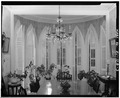 GOTHIC ADDITION (DINING ROOM), INTERIOR - Francis M. Dimond House, 617 Hope Street, Bristol, Bristol County, RI HABS RI,1-BRIST,19-3.tif