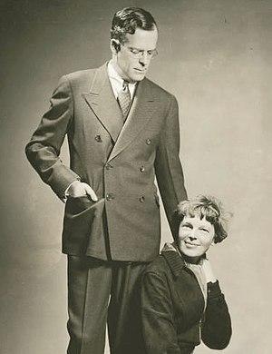 George P. Putnam - George P. Putnam and Amelia Earhart c.1935