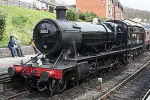 GWR 2884 Class - Image: GWR 3802 (05 04 14)