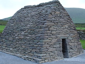 County Kerry - Gallarus Oratory near Dingle, which dates back to the 6th century.