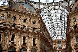 Galleria Vittorio Emanuele II - Image: Galleria Vittorio Emanuele II (Milan) E1