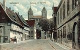 Gandersheim. Village and abbey church, c. 1900-1905.jpg