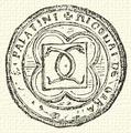 Garai Miklós pecsétje, 1401.PNG
